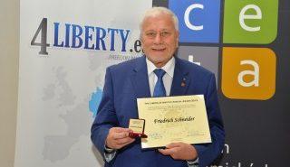 Výroční cena Liberálního institutu 2015 – Friedrich Schneider