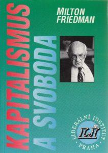 Book Cover: Friedman, M. (1962) Kapitalismus a svoboda