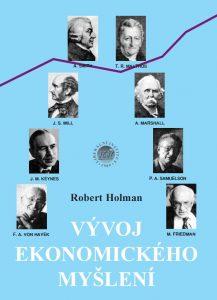 Book Cover: Holman, R. (2003): Vývoj ekonomického myšlení